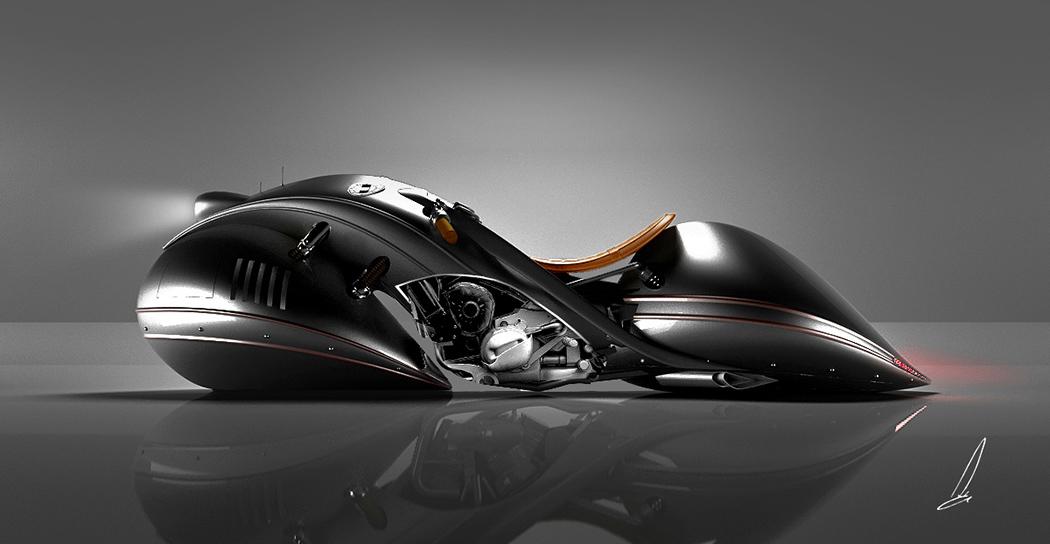 Streamlined Supermoto Yanko Design