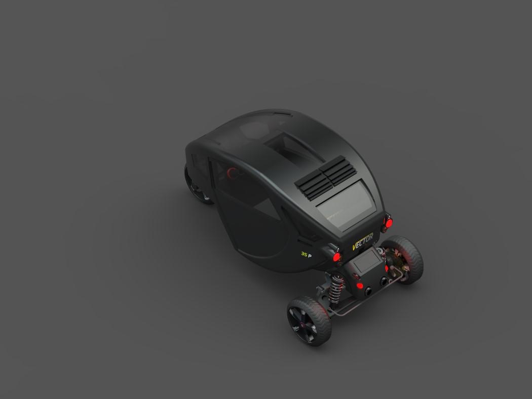 VECTOR SINGLE SEAT CONCEPT MotorCove