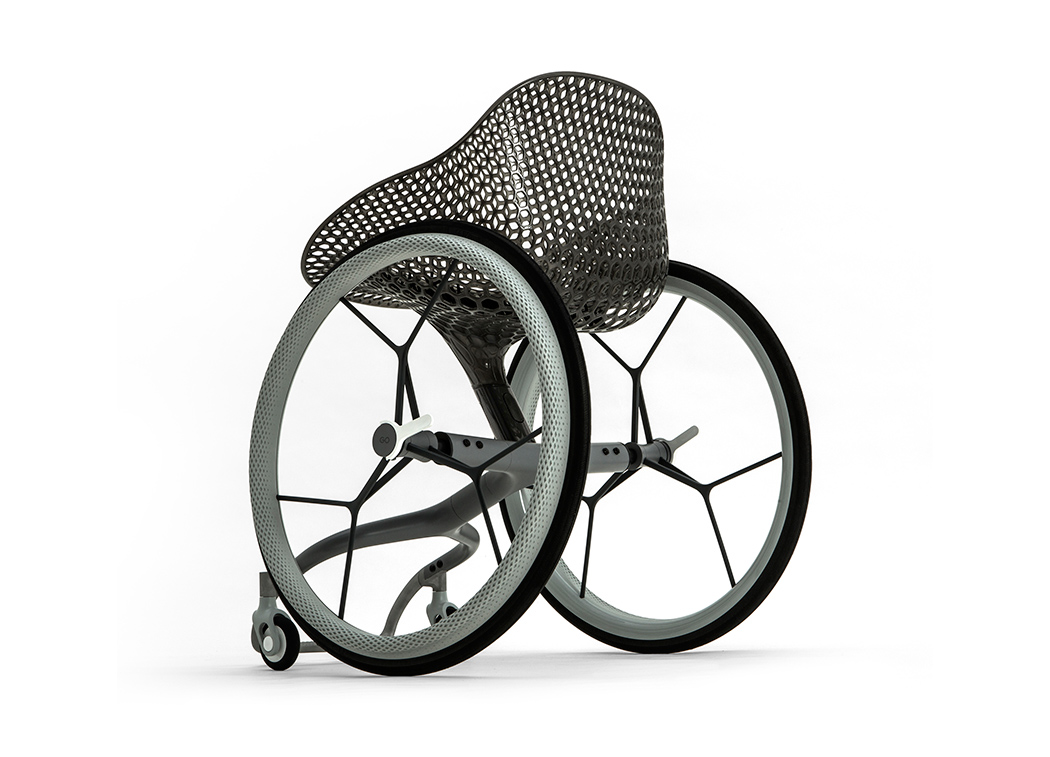 the world u0027s first 3d printed wheelchair yanko design