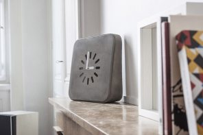 One Chic Concrete Clock