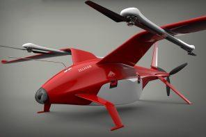 A Wild Half Copter, Half Plane Drone