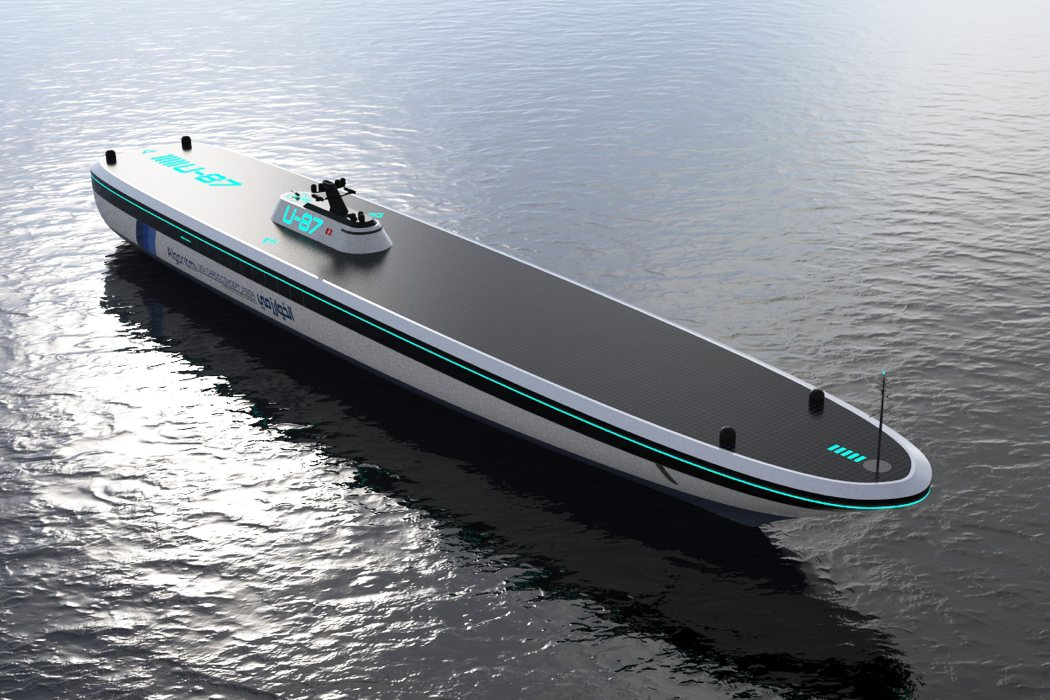 Future Ship Design : Autonomous ships of the future yanko design