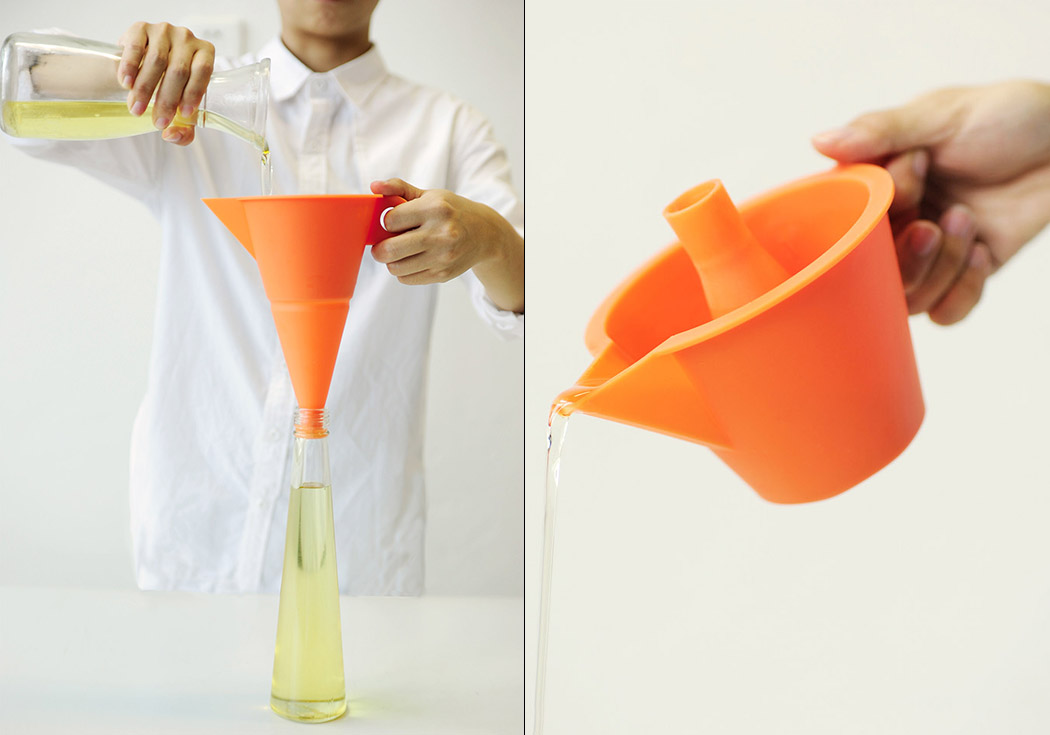 the multifunctional flexi funnel - Kitchen Funnel