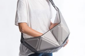 A Baby Sling for Hipster Parents!