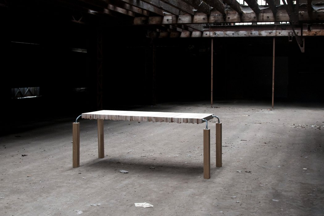 a complex table that s simply beautiful yanko design
