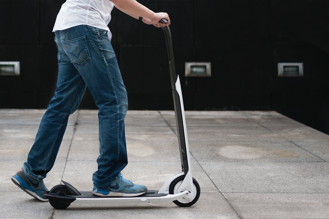 A Car Substituter Scooter Commuter Yanko Design