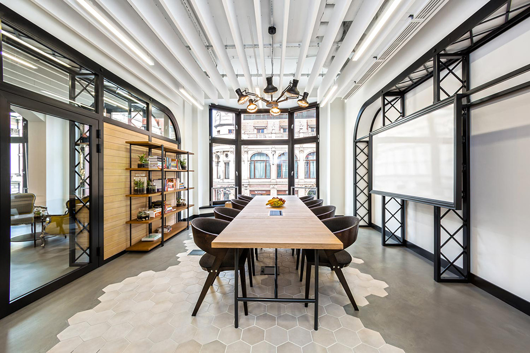 An office to sing about yanko design for Aik sing interior decoration contractor