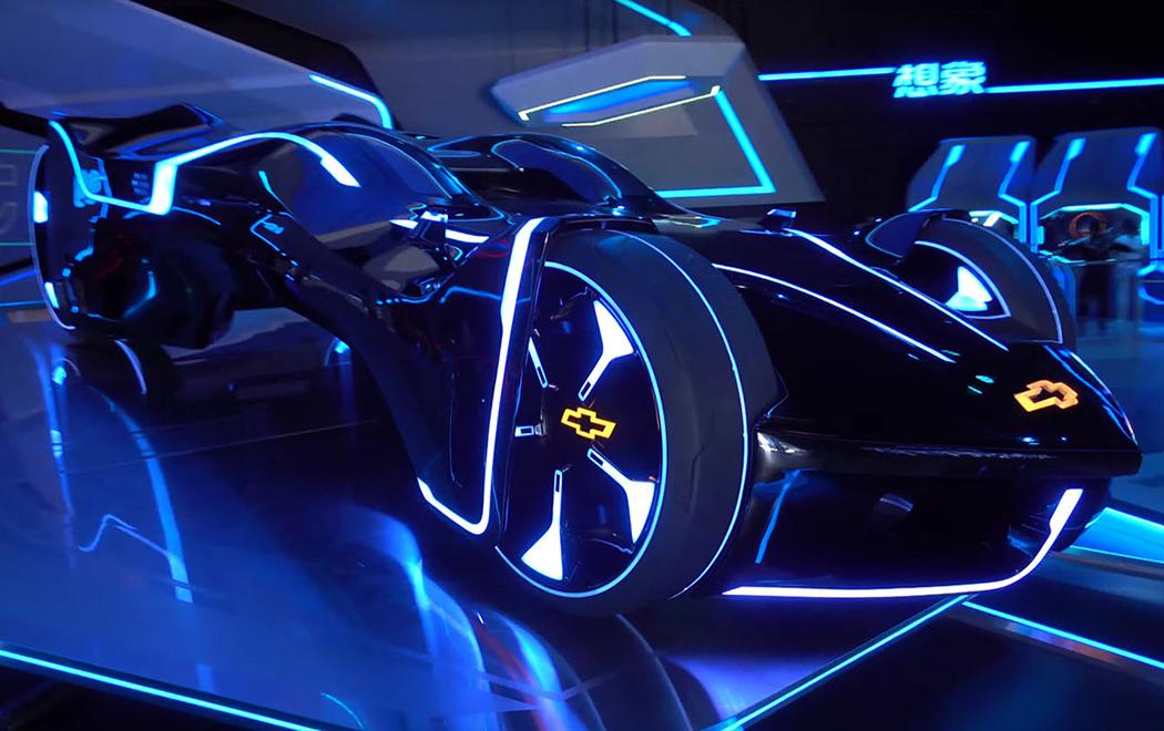 Best Design News tron_01 The Tron-vette! Uncategorized Tronvette