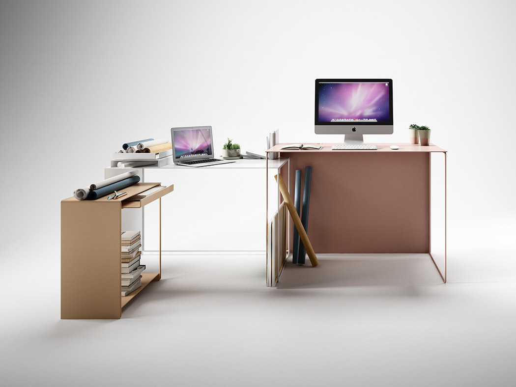 A Desk for Life | Yanko Design