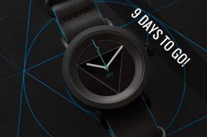 A Geometric Artpiece Timepiece!