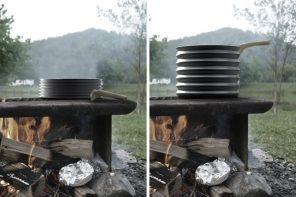 Incredible Shrinking Cookware