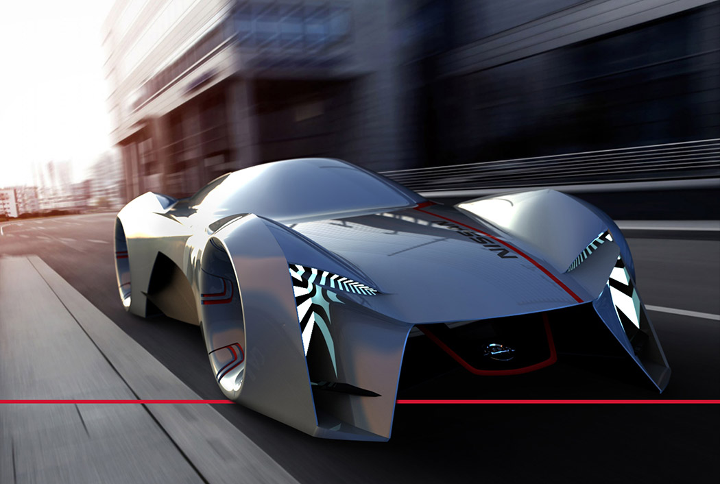 A Glimpse at the Electric Nissan of the Future? | Yanko Design