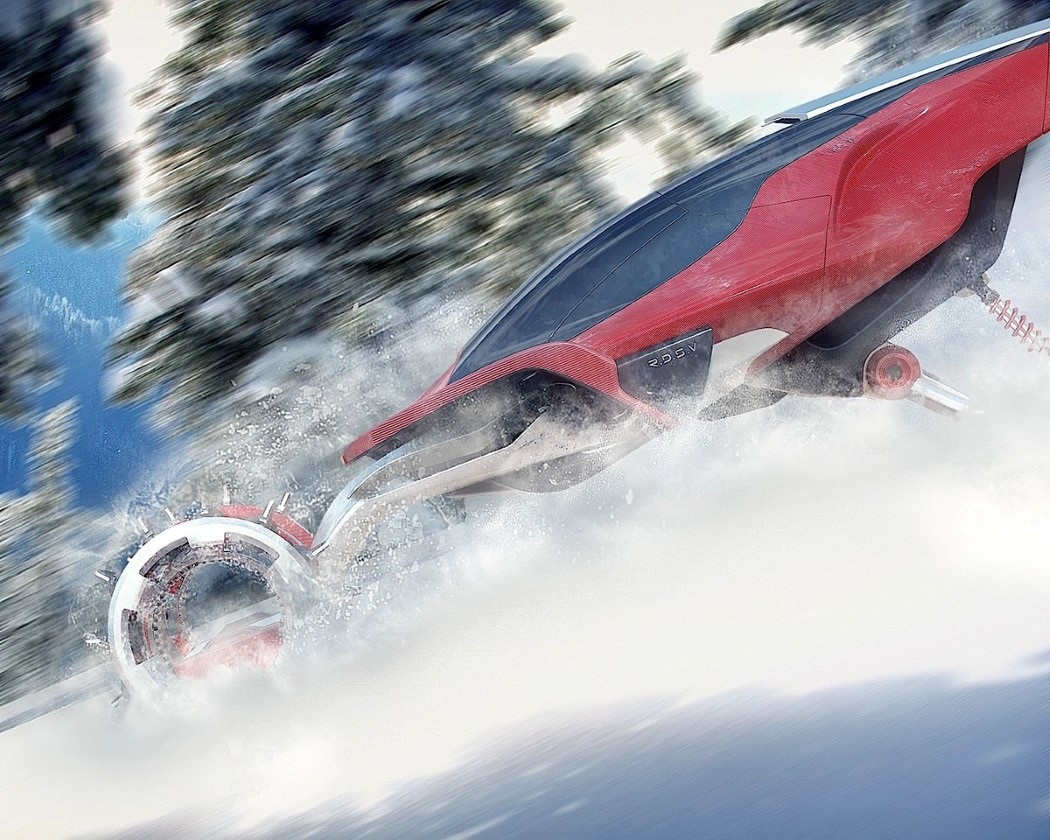 Snow-domination transportation
