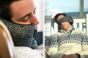 Perfect 2-in-1 Travel Pillow for this Holiday Season!