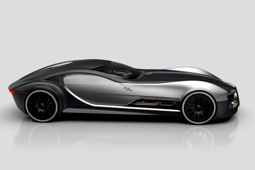 Future cars bugatti