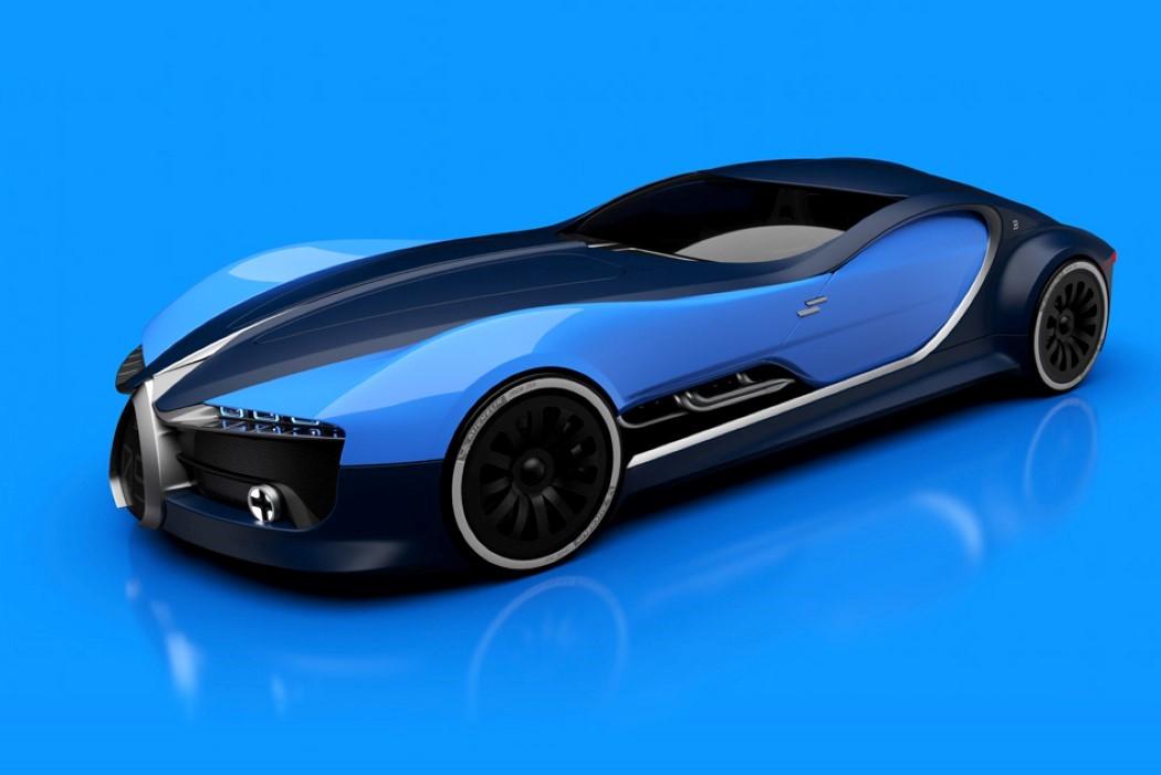 Bugatti Car 2017 Inside >> The Bugatti of future past! | Yanko Design