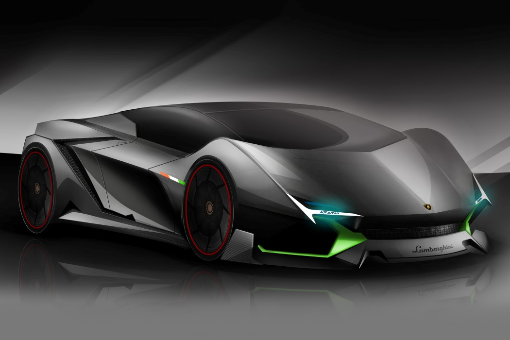 This Lambo Is Born To Kill Yanko Design