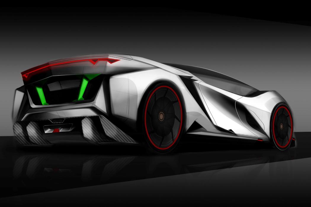 This Lambo is born to kill! | Yanko Design