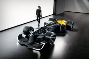 The future of F1, designed by Renault