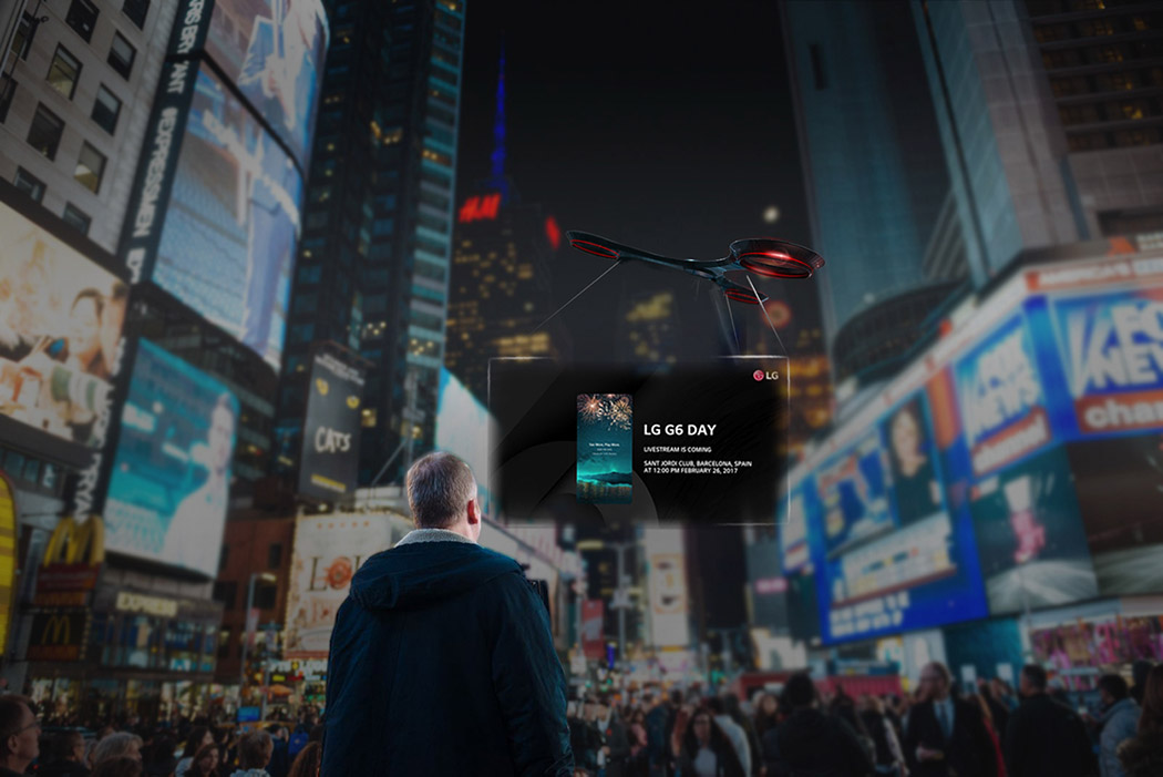 Teofilo.net | Drone-vertising is Here!