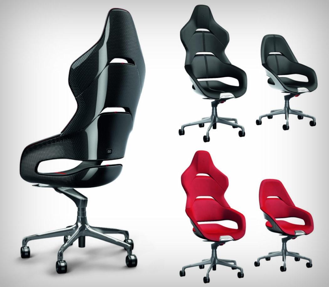 Ferrari S Racy Office Chairs Yanko Design