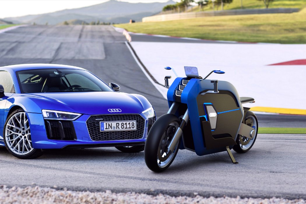 If Audi Made Motorcycles Yanko Design Howldb