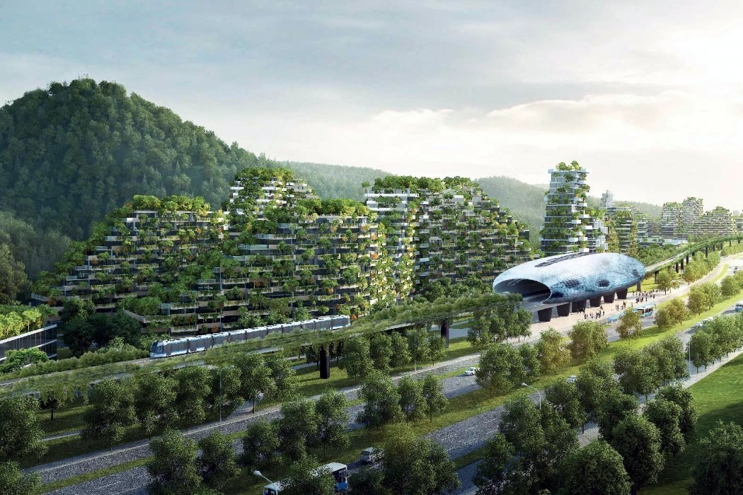 liuzhou_forest_city_layout