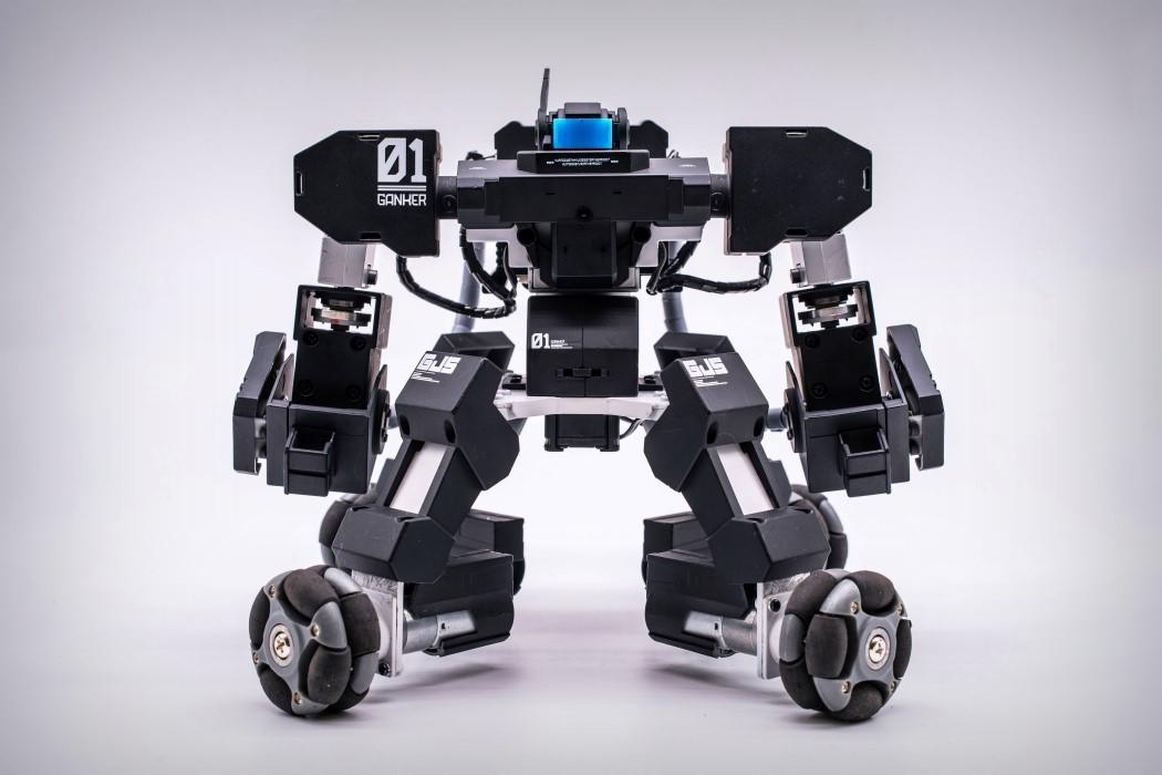 Робот ганкер своими руками 62