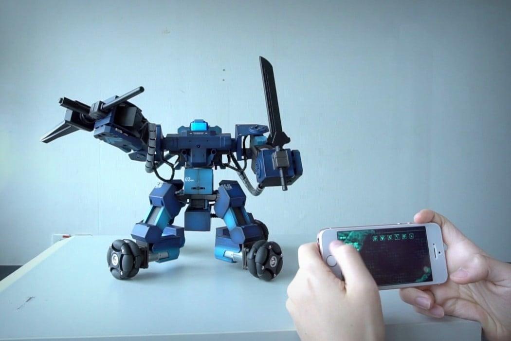 Робот ганкер своими руками 11