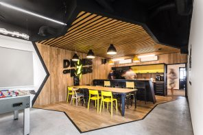 An Office That's Like Living Inside a Smartphone!