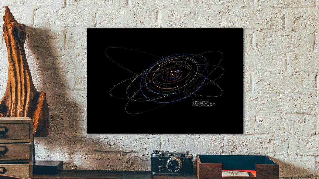 spacetime_coordinates_color_art_prints_1