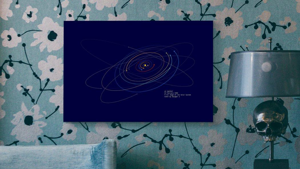 spacetime_coordinates_color_art_prints_2