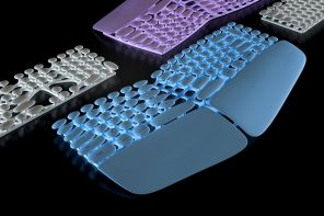 The Cleanest Keyboard Ever