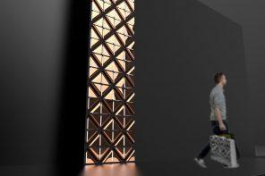 Minimalist Modular Light Art