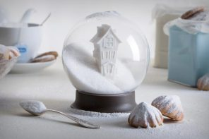 The sweetest snow-globe ever