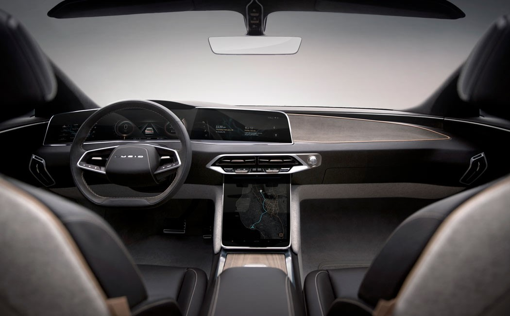 2017 Lincoln Continental Interior >> Welcome the Luxurious Lucid Air! | Yanko Design