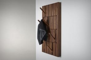 The flat-pack coat-rack