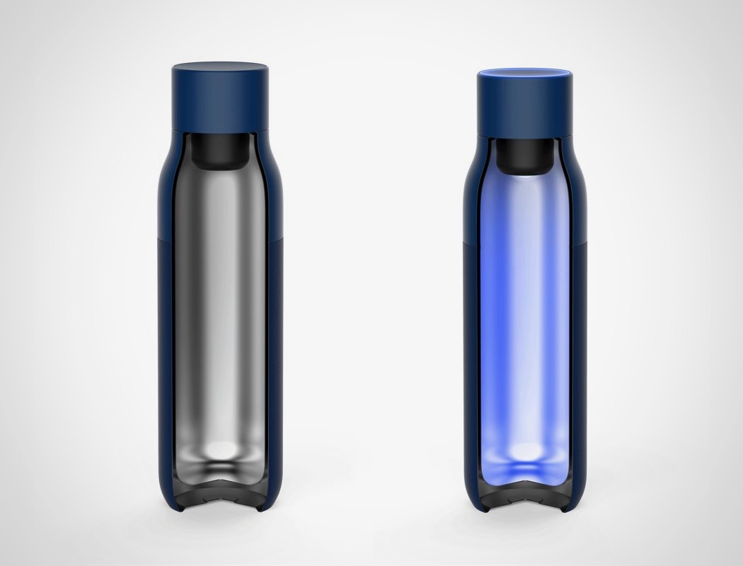 uvc water bottle, uv water bottle