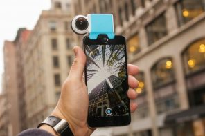 Make your smartphone livestream in 360!