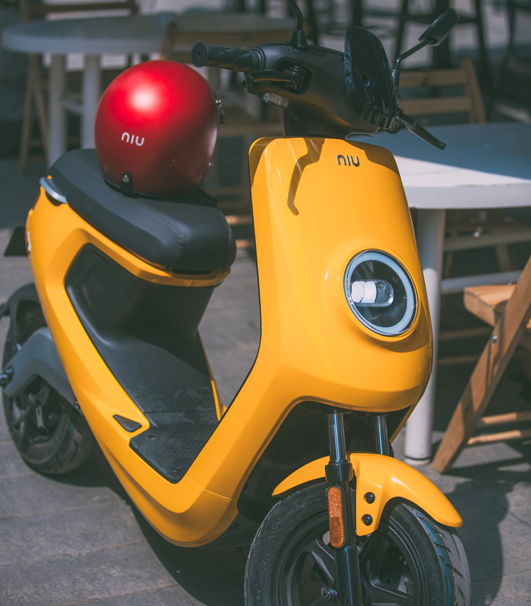 Teofilo Net The Niu Face Of Scooters  # Muebles Pagolin