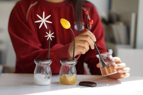 Functional Flowers for Your Kitchen