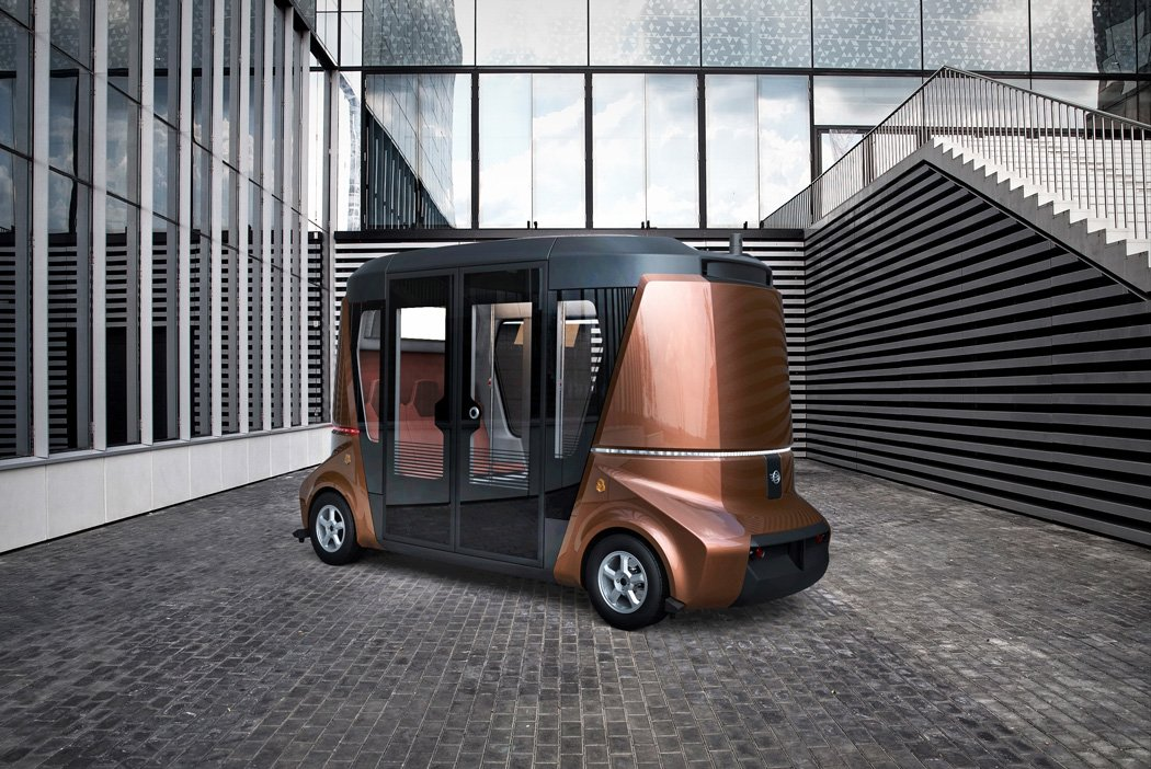 A Vehicle that Changes (with) the Future