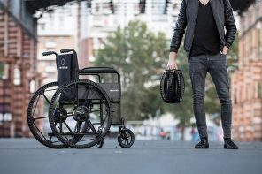 A Foldable Wheel that Can't Puncture