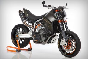 There's something different about this KTM
