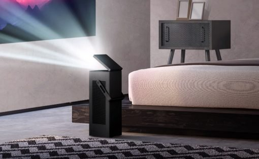 LG's First 4K UHD Projector Delivers Stunning Images in Compact, Convenient Package (PRNewsfoto/LG Electronics USA)