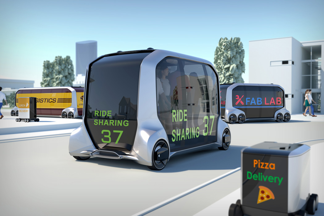 Palette Is Toyota's Mobility Concept For Retail And E-Commerce