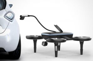 Car-charging Drones of the Future