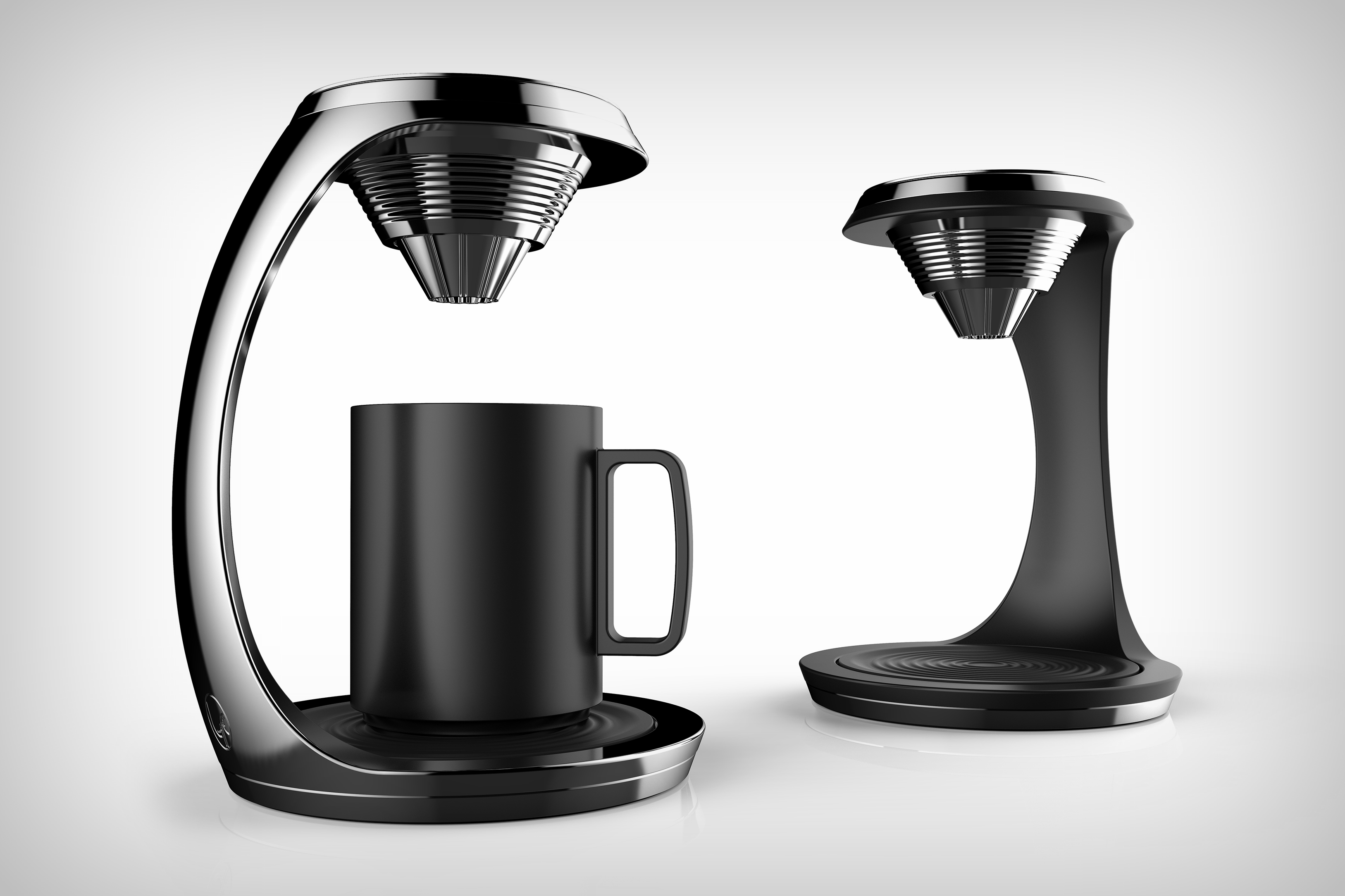 A trophy coffee machine!