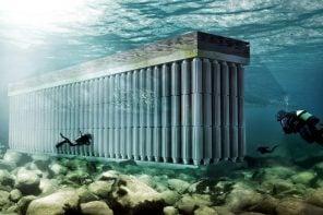 Greek architecture or underwater energy harvester?!