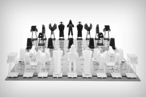 Check out this low-poly high-entertainment chess set!